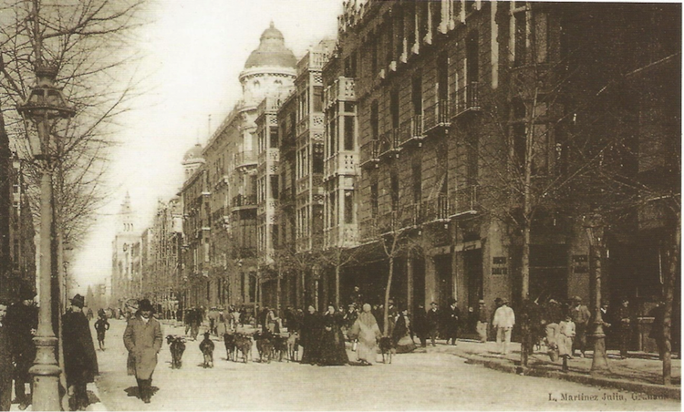 La Gran Vía de Granada, siglo XIX