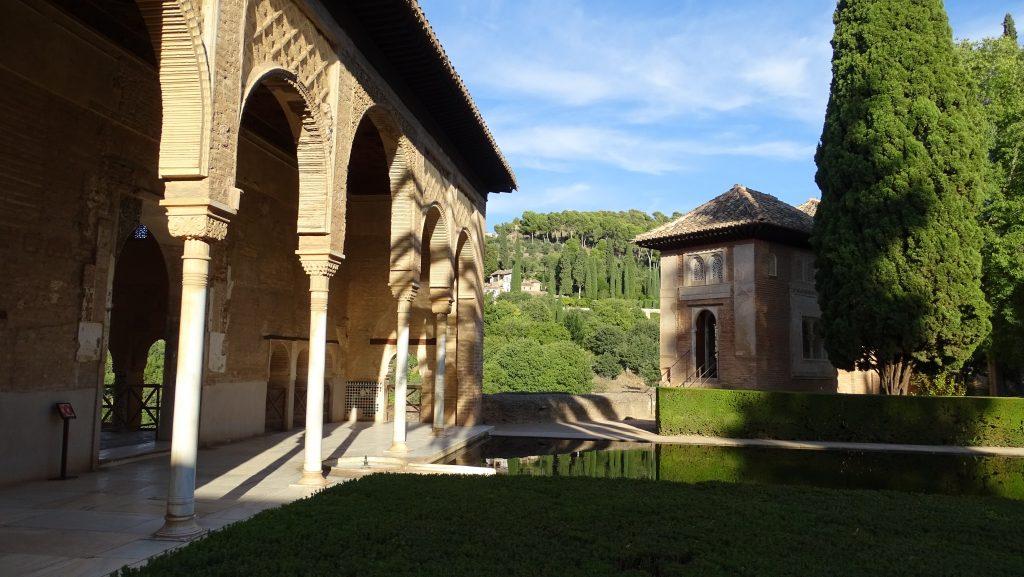 Palacio del Partal en la Alhambra